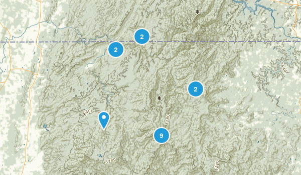 Epworth, Georgia Walking Map