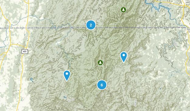 Epworth, Georgia Wildlife Map