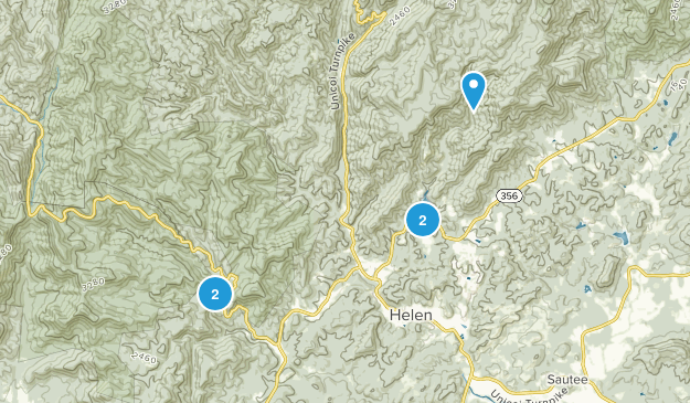 Helen, Georgia Kid Friendly Map