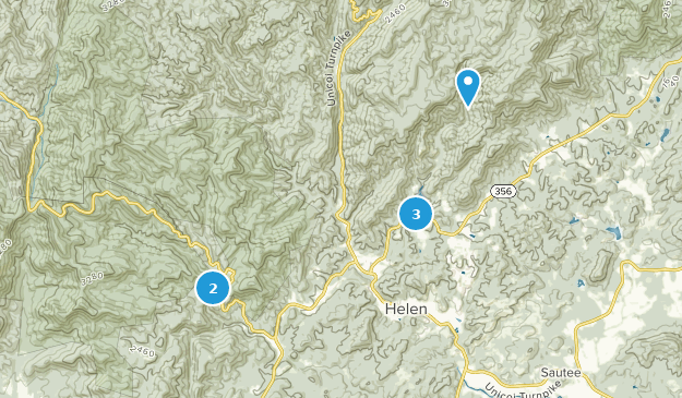 Map Of Georgia Helen.Best Kid Friendly Trails Near Helen Georgia Alltrails