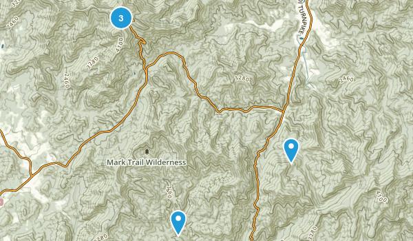 Hiawassee, Georgia Walking Map