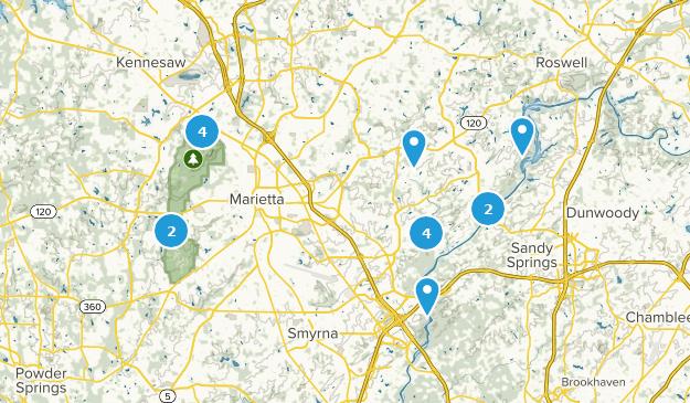 Georgia Map For Kids.Best Kid Friendly Trails Near Marietta Georgia Alltrails