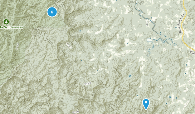 Oasis, Georgia Birding Map