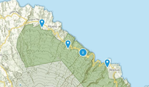 Haiku, Hawaii Kid Friendly Map