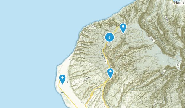 Kekaha, Hawaii Wildlife Map