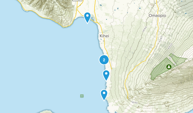 Kihei, Hawaii Birding Map