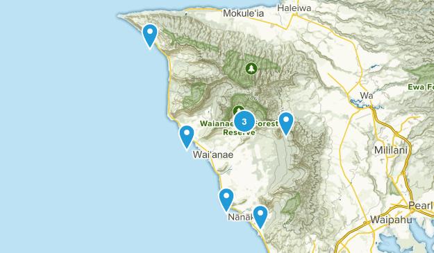 Waianae, Hawaii Nature Trips Map