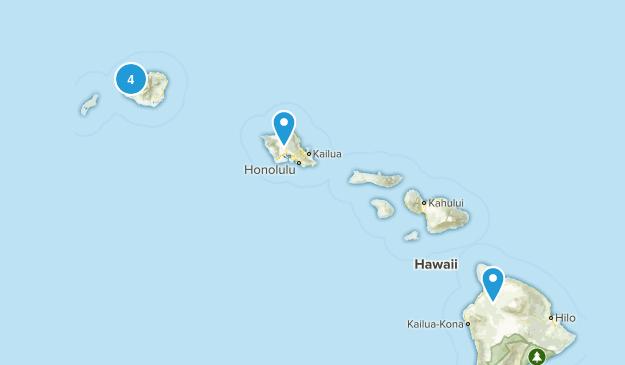 Waimea, Hawaii Forest Map