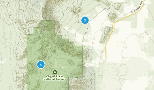 Almo, Idaho Views Map