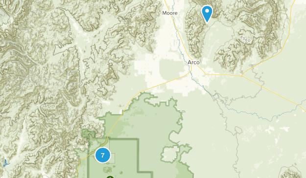 Arco, Idaho Views Map