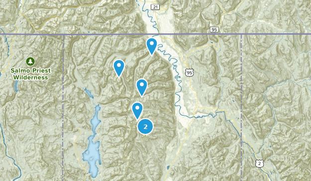 Beste Campingrouten in der Nähe von Bonners Ferry, Idaho ...