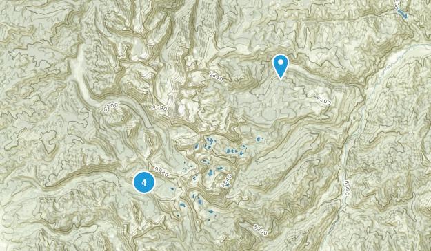 Clayton, Idaho Views Map