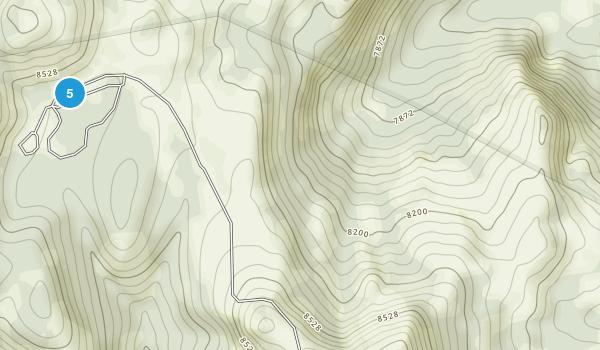 Cobalt, Idaho Hiking Map