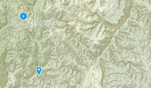 Cobalt, Idaho Hiking Map