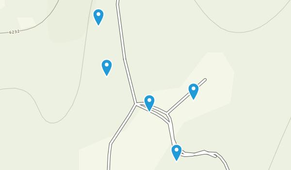 Elk Summit, Idaho Hiking Map