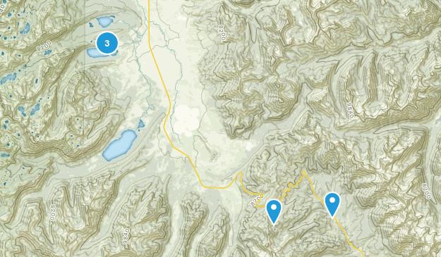 Galena, Idaho Hiking Map