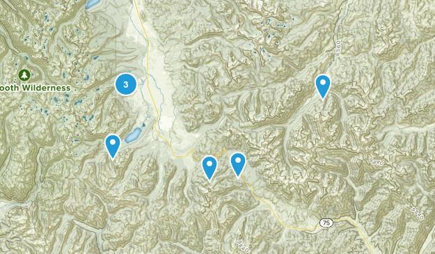 Galena, Idaho Walking Map