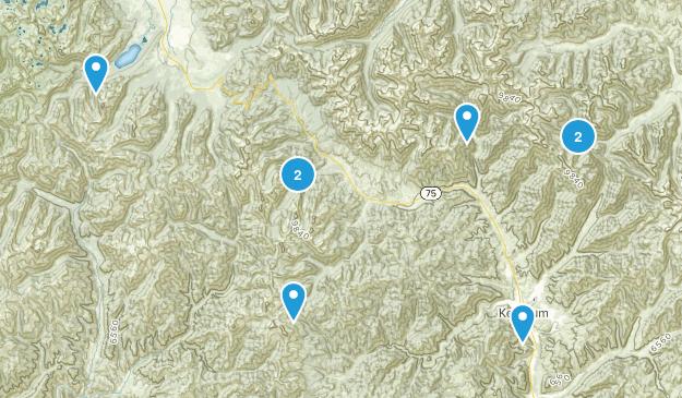 Ketchum, Idaho Birding Map