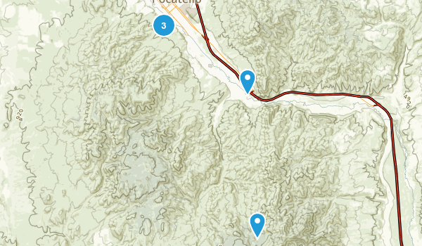 Pocatello, Idaho Birding Map