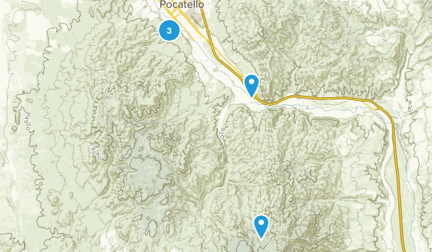 Pocatello, Idaho Birding Map