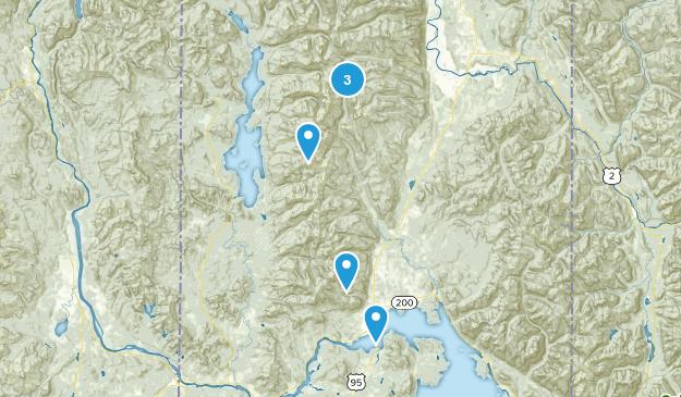 Sandpoint, Idaho Walking Map