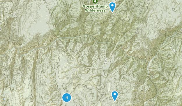 Warren, Idaho Bird Watching Map