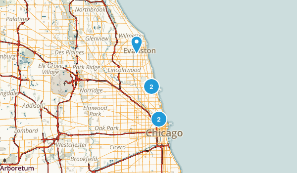 Best Dog Friendly Trails Near Chicago Illinois Photos - Chicago il on us map