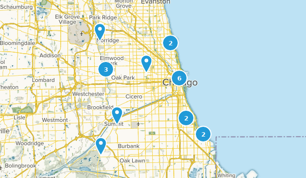 Best Hiking Trails Near Chicago Illinois Alltrails - Chicago-on-the-us-map