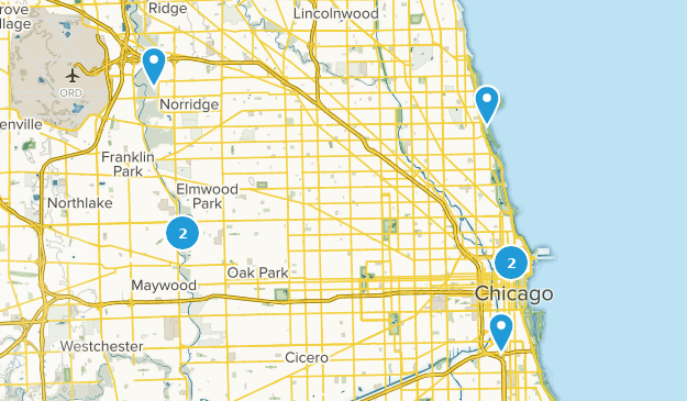 Best River Trails Near Chicago Illinois Alltrails - Chicago-illinois-us-map