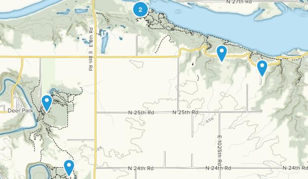 Deer Park, Illinois Forest Map