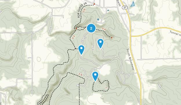 Goreville, Illinois Walking Map