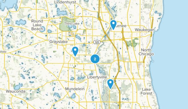 Libertyville, Illinois Kid Friendly Map