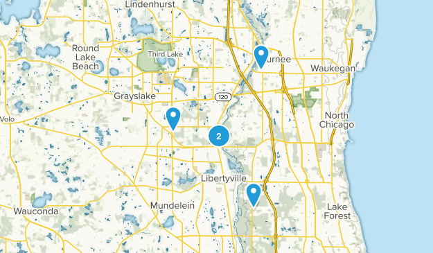 Libertyville, Illinois Wildlife Map