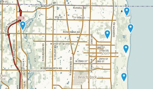 Best Hiking Trails near Zion Illinois AllTrails