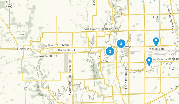 Avon, Indiana Birding Map