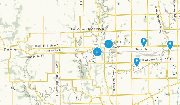 Avon, Indiana Kid Friendly Map