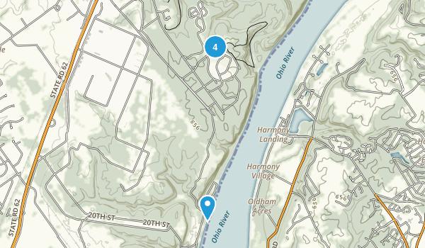 Charlestown, Indiana Birding Map