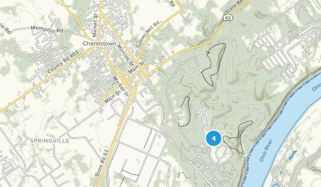 Best Bird Watching Trails near Charlestown, Indiana | AllTrails Charlestown Indiana Map on