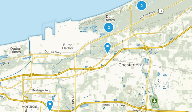 Chesterton, Indiana Kid Friendly Map