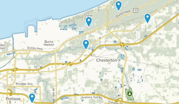 Chesterton, Indiana Wildlife Map