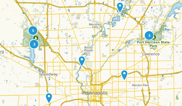 Best Lake Trails Near Indianapolis Indiana Alltrails - Indianapolis-in-us-map