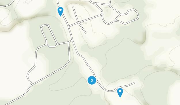 Logansport, Indiana Hiking Map