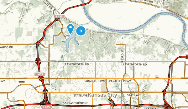Kansas City, Kansas Birding Map