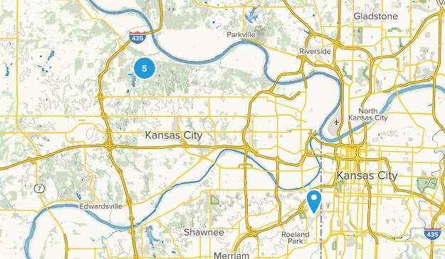 Kansas City, Kansas Mountain Biking Map