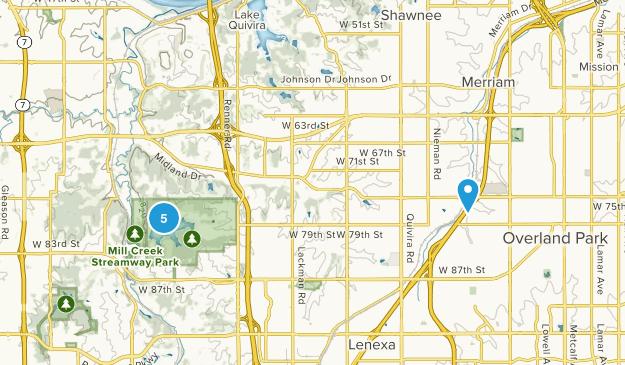 Shawnee, Kansas Birding Map