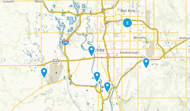 Wichita, Kansas Kid Friendly Map