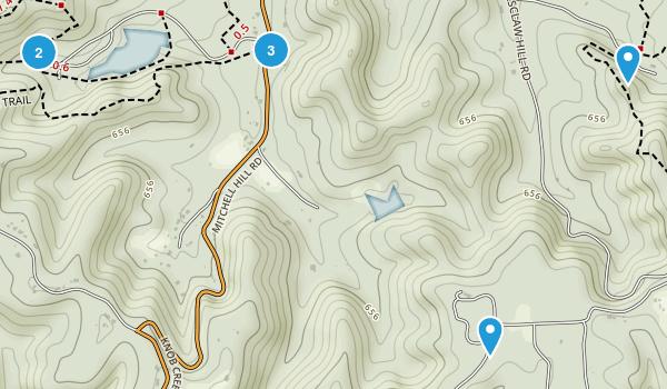Fairdale, Kentucky Hiking Map