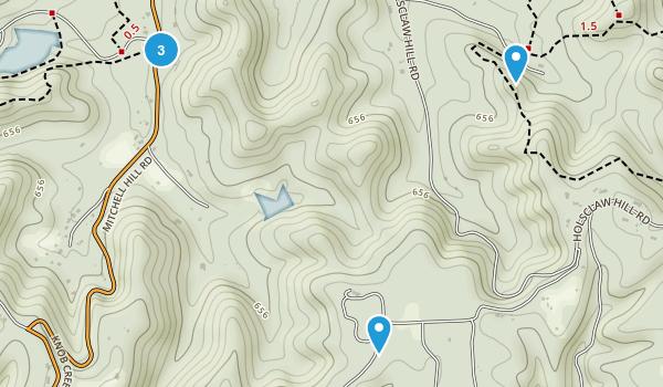 Fairdale, Kentucky Trail Running Map