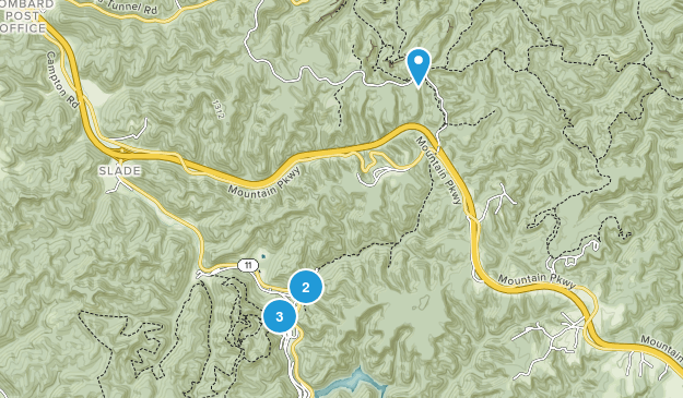 Slade, Kentucky Birding Map