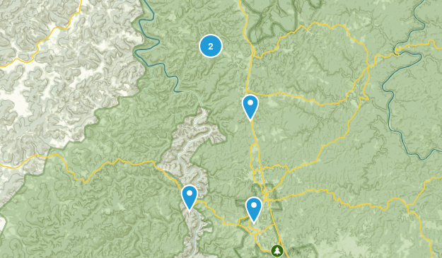 Whitley City, Kentucky Walking Map